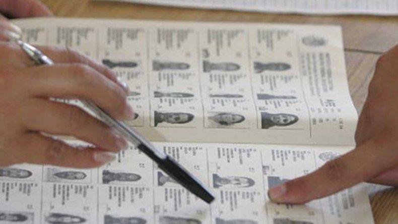 Consultá el padrón para saber dónde votás hoy