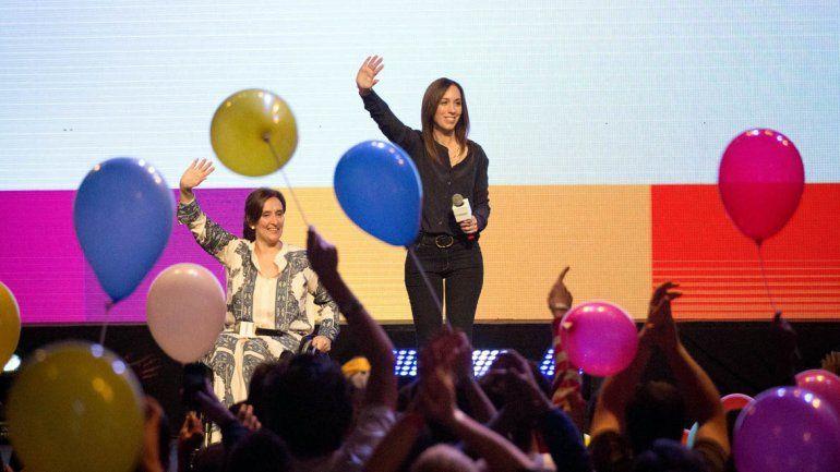 La candidata a gobernadora de Buenos Aires