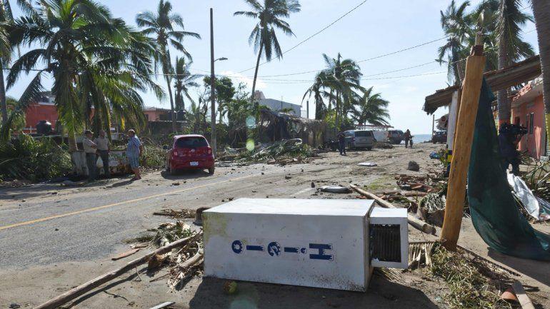 La devastación tras el paso del huracán Patricia por el estado de Jalisco