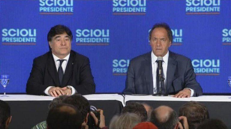 Scioli: No hay dos sin tres y vamos a ganar el 22 de noviembre