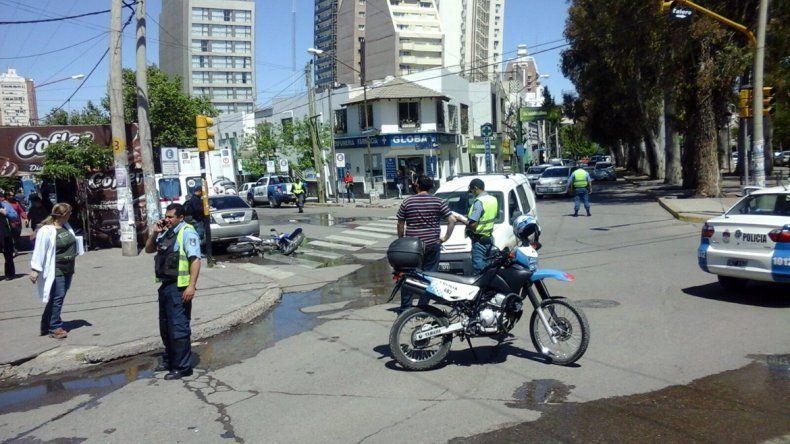 El accidente se registró pasadas las 12:30