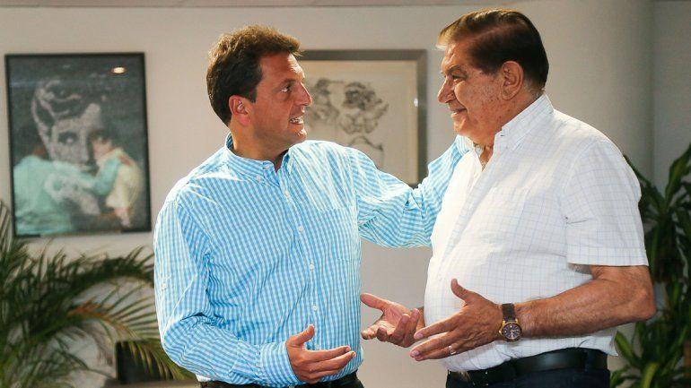 El secretario general del gremio petrolero respaldó localmente a Sergio Massa (UNA).