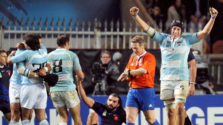 Un recuerdo memorable para el rugby argentino. Los Pumas derrotaron a Francia en su casa y fueron terceros.