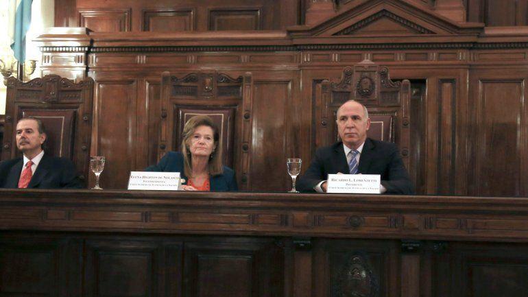 El acuerdo fue firmado por los jueces Ricardo Lorenzetti