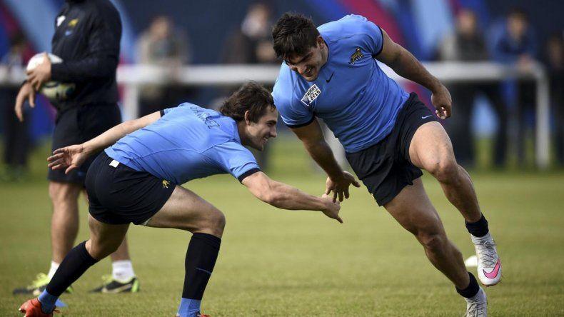 Mundial 2015: entrenamiento Los Pumas Mundial 2015 de cara al partido por el tercer puesto.