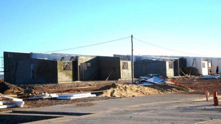 Avanza la construccion de 40 viviendas en Añelo