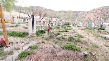 Una postal del cementerio El Progreso, lugar donde se originó la increíble confusión.