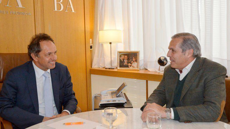 El bonaerense y el neuquino coinciden en la política energética que debe llevar adelante la Argentina.