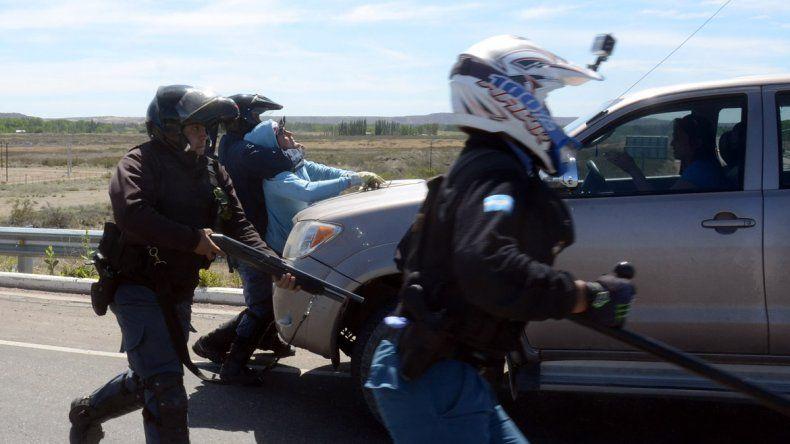 Violento desalojo a los chacareros de San Francisco