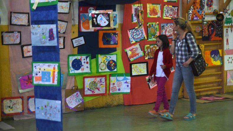 La Ciudad Deportiva mostró el talento y la creatividad de los alumnos.