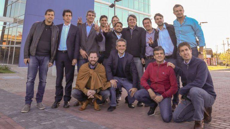 Máximo se reunió con intendentes de car al ballotage