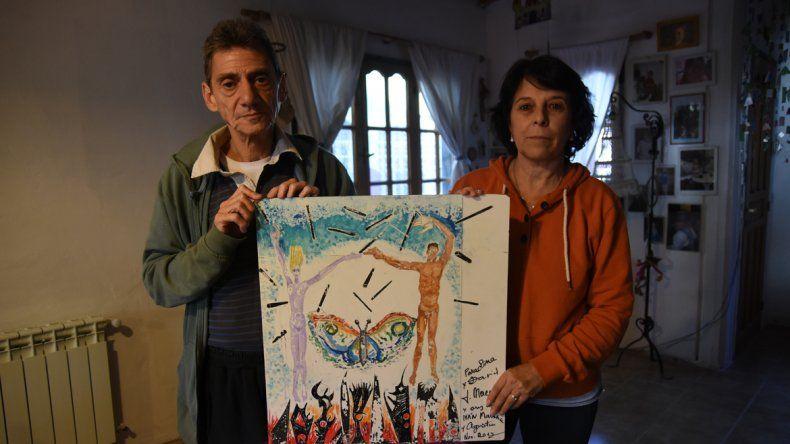 El amor de Lina Garraza y David Mazal cruzó muros