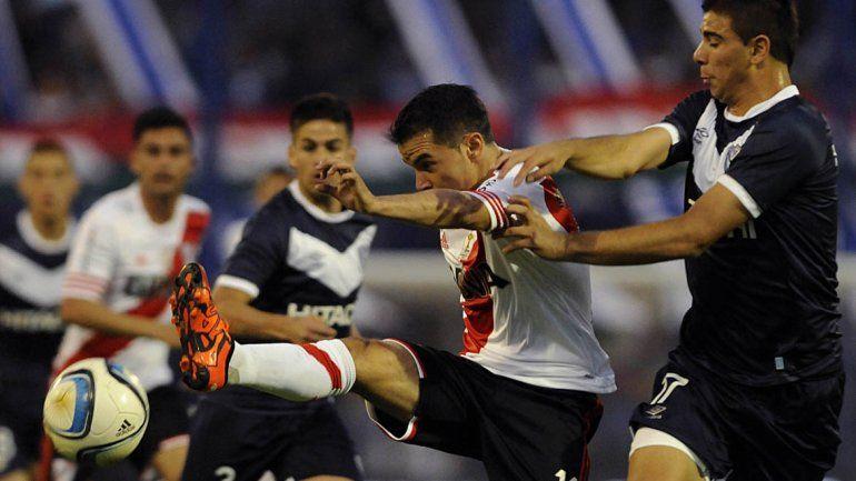 Con suplentes, River le ganó a Vélez de visitante