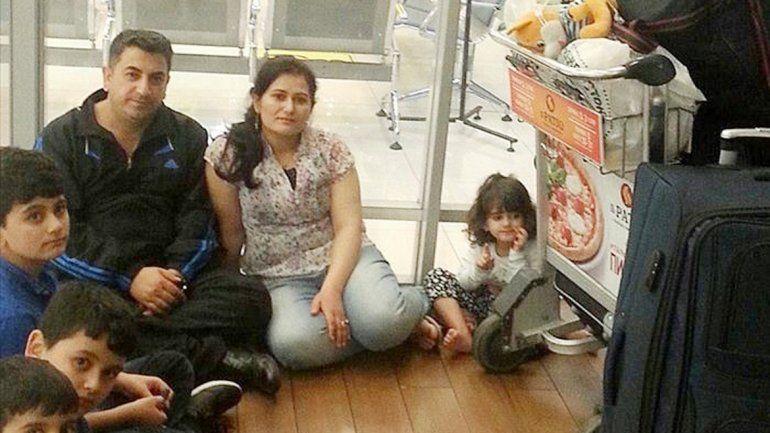 Los Ahmad huyeron de Irak debido a la presencia del Estado Islámico.