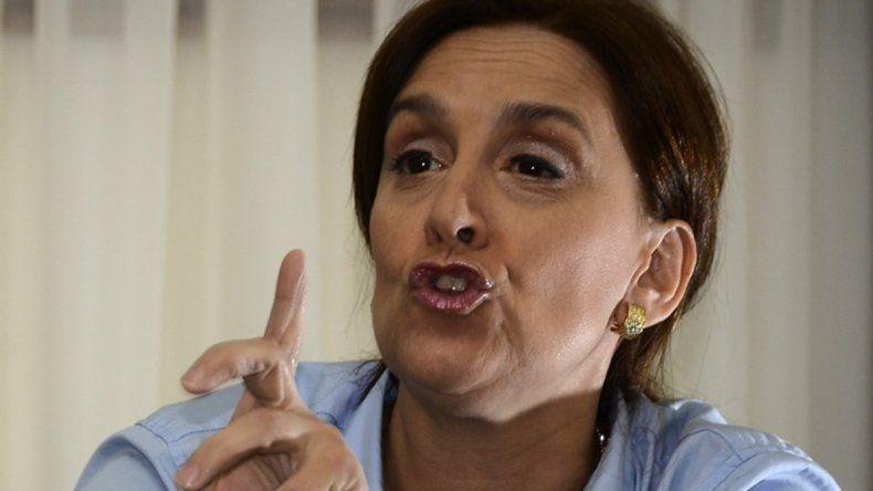 La candidata de Cambiemos cargó duro contra el FpV.
