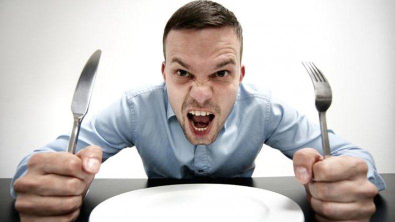 Sentir ira o enojo es una respuesta del cerebro ante la falta de glucosa