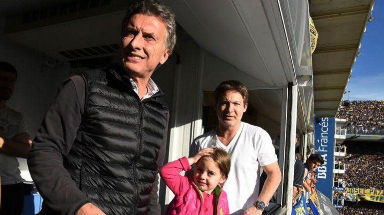 El líder del PRO festejó ayer el campeonato que obtuvo Boca Juniors.