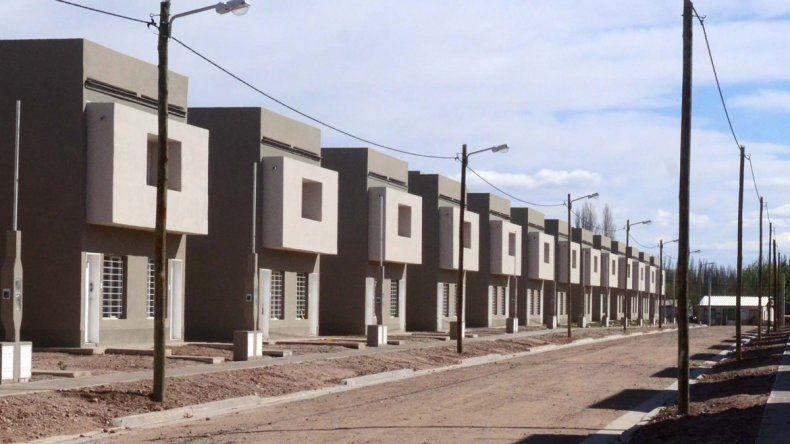 Las viviendas proyectadas se reparten en todo el territorio neuquino.
