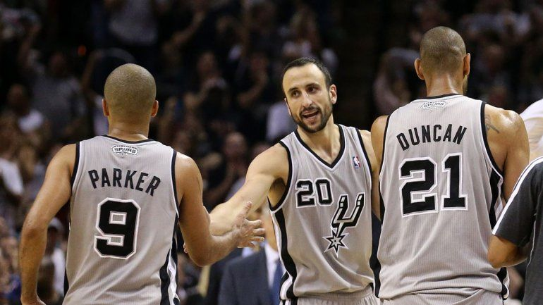 El tridente de los Spurs