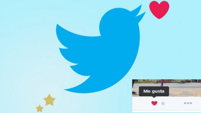 Ahora, Twitter se parece a Facebook y permite el Me gusta