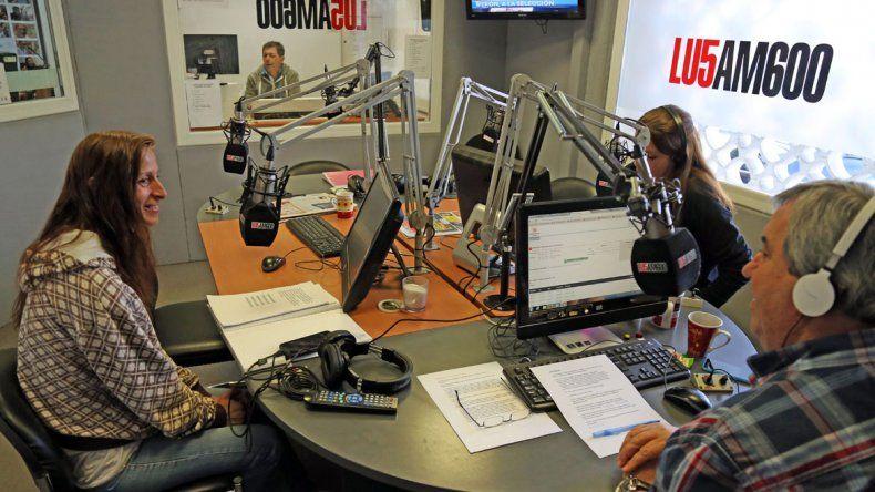 Patricia González en LU5.