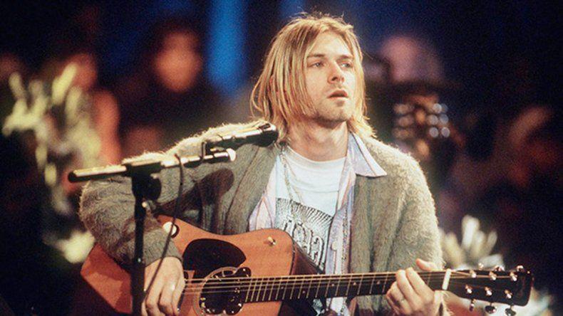 Se trata de la prenda que usó en la grabación de MTV Unplugged.