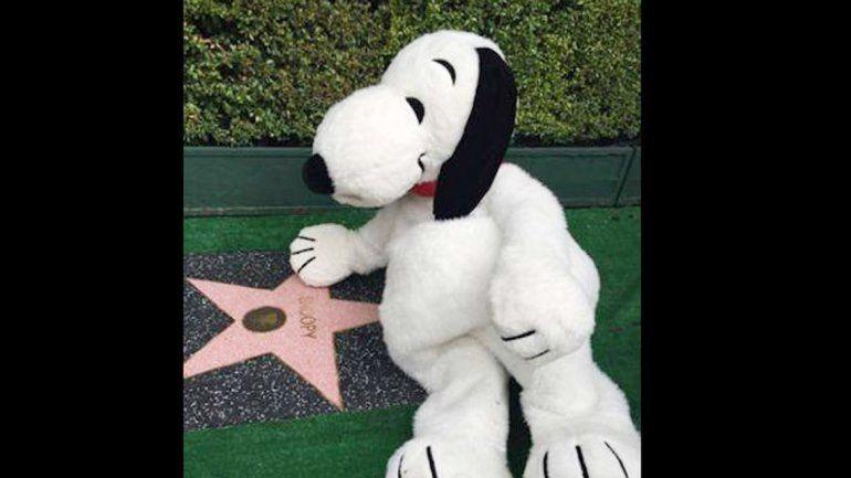 El perro de Charlie Brown tienesu propia estrella.