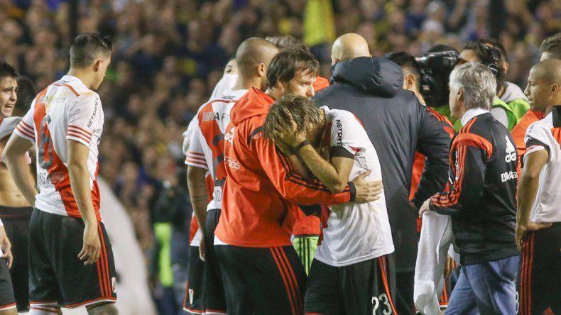 El recordado incidentepor la Libertadores.