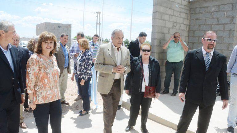 El gobernador participó ayer de la inauguración de una planta de la firma Temple SRL