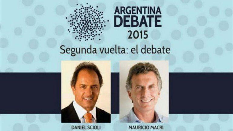Acordaron el orden y los temas a tratar en el debate presidencial