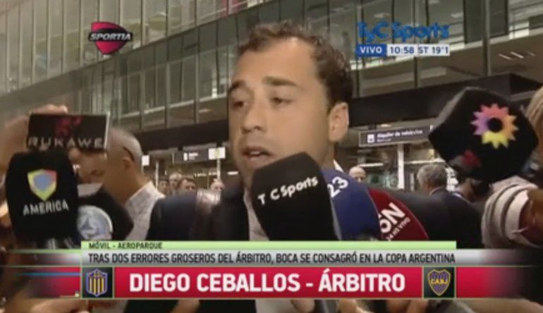 Habló la madre de Diego Ceballos: Se la pasa llorando