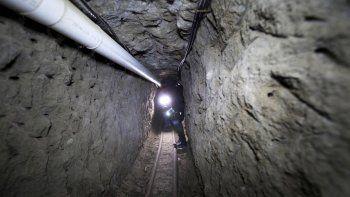 El túnel que utilizó Chapo para fugarse de la cárcel.