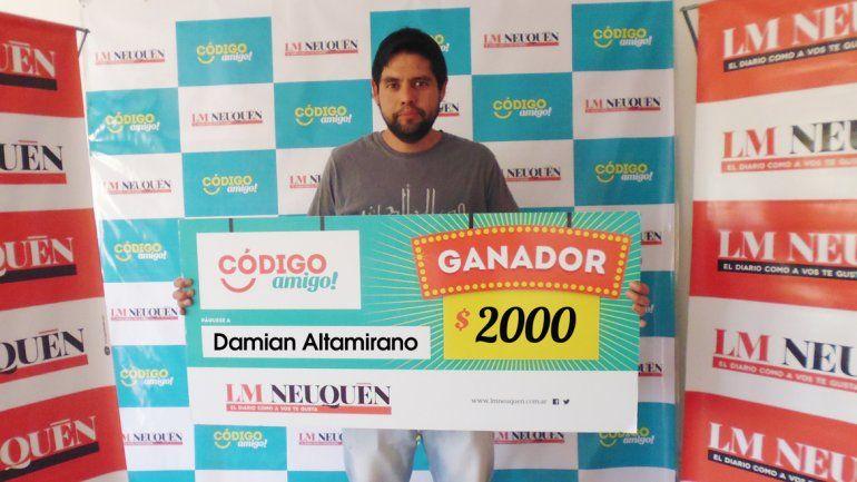 Damián Altamirano.