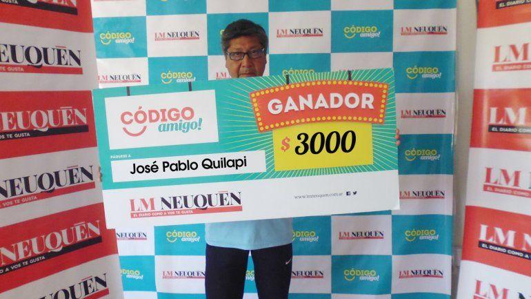 José Pablo Quilapi.