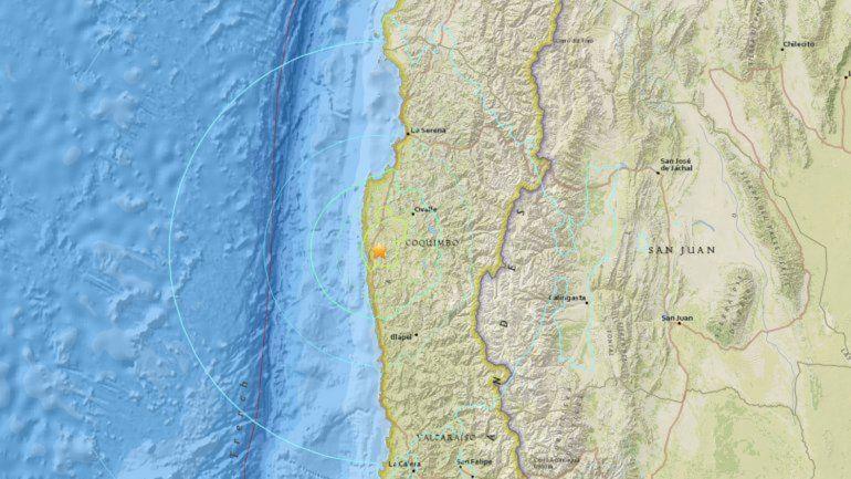 Fuerte temblor en Chile se sintió en 5 provincias argentinas