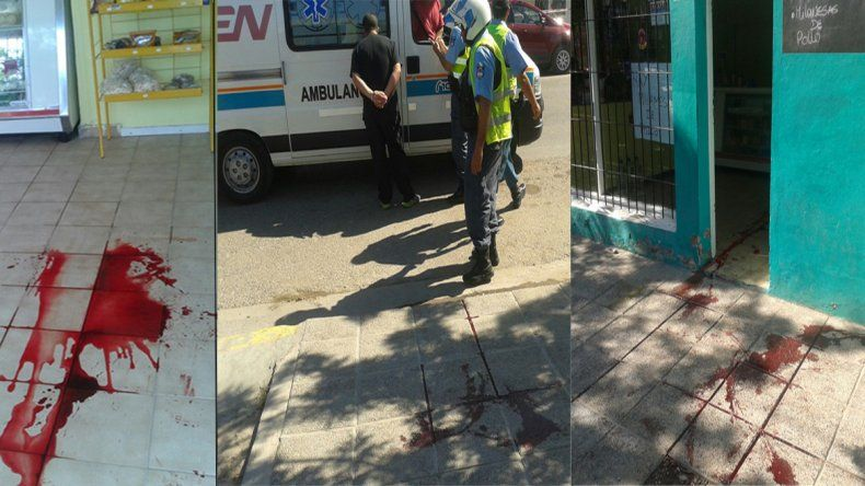 Un comerciante se defendió a cuchillazos de tres ladrones e hirió a uno