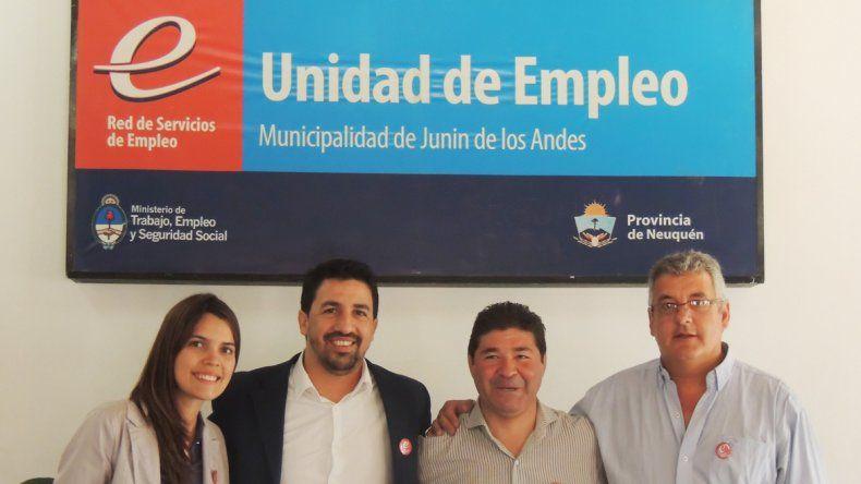 De la inauguración participó el Gerente de Empleo y Capacitación Laboral