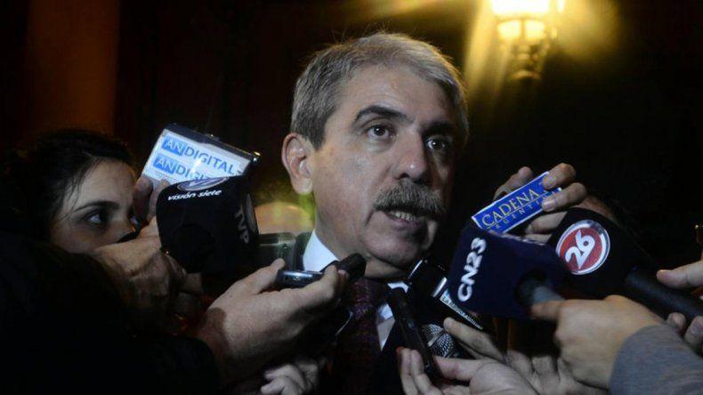 Aníbal Fernández respaldó a Scioli tras el debate presidencial