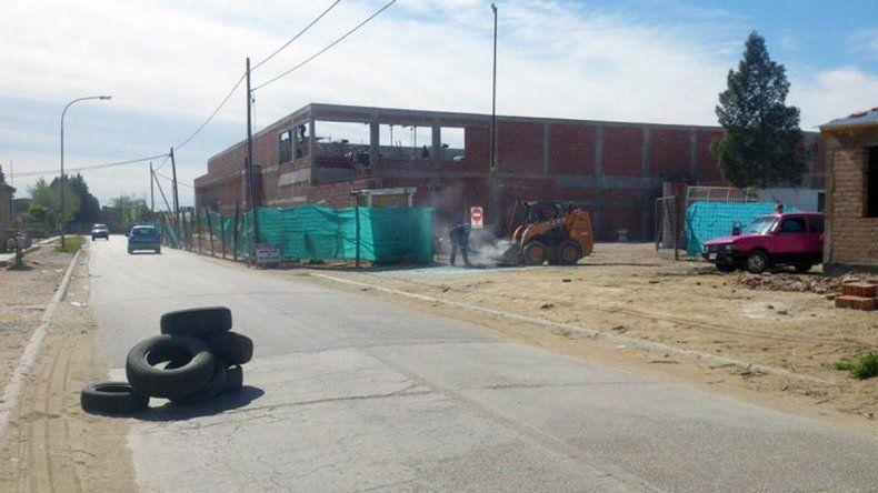 La obra de la Cooperativa Obrera se construye en calles Ejército Argentino y Maipú.