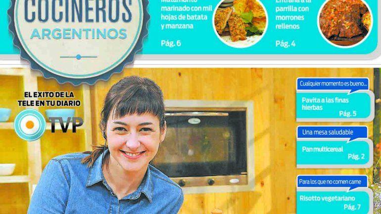 Reclama este martes el suple de Cocineros Argentinos.