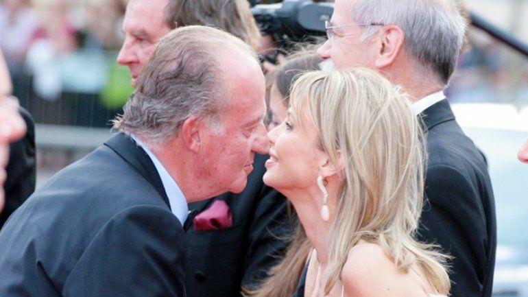 Juan Carlos con la alemana Corinna zu Sayn-Wittgenstein