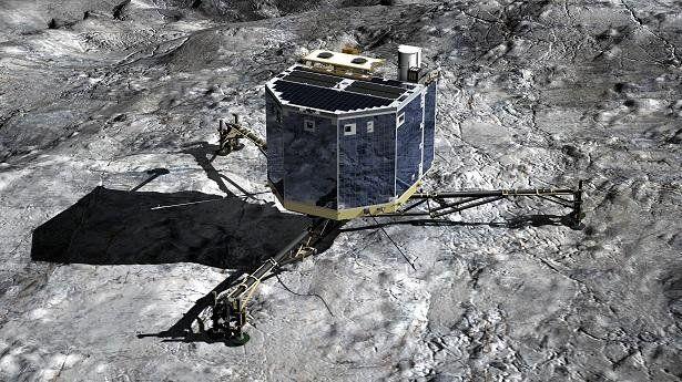 El robot científico Philae cumple su primer año posado en un cometa
