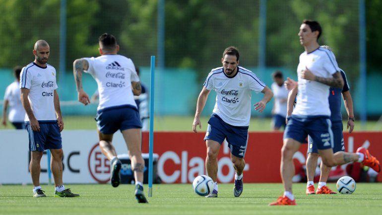 Pipita sería el nueve de Martino para el encuentro contra Brasil