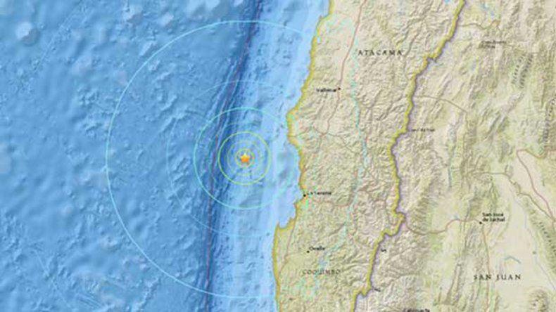 Dos fuertes sismos sacudieron el centro y el norte de Chile