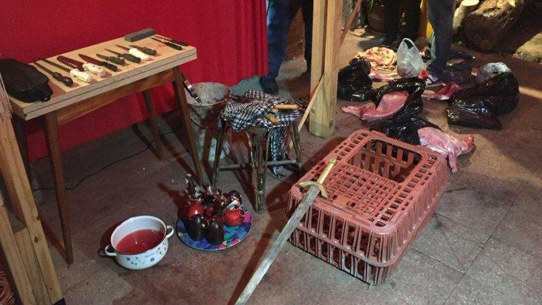 Doce detenidos por sacrificar animales en un rito umbanda