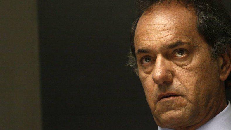 Scioli: Espero que los contenidos del debate sean profundos
