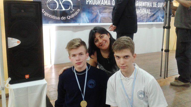 Ian Caramutti Godoy y Andrés Ajras