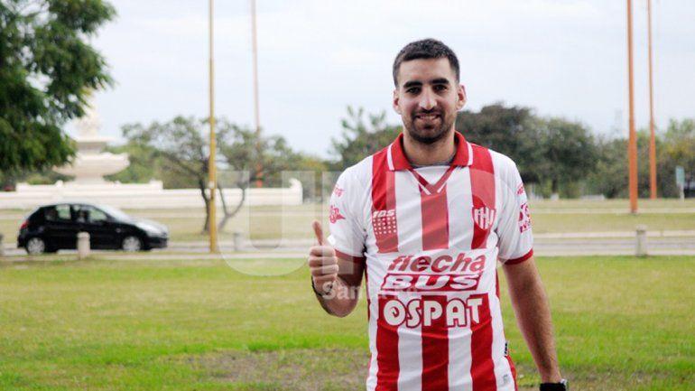Matías Castro debutó este año en Unión. Jugó nueve partidos.