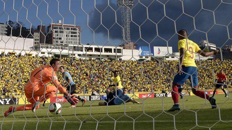 Ecuador le ganó 2 a 1 a Uruguay.