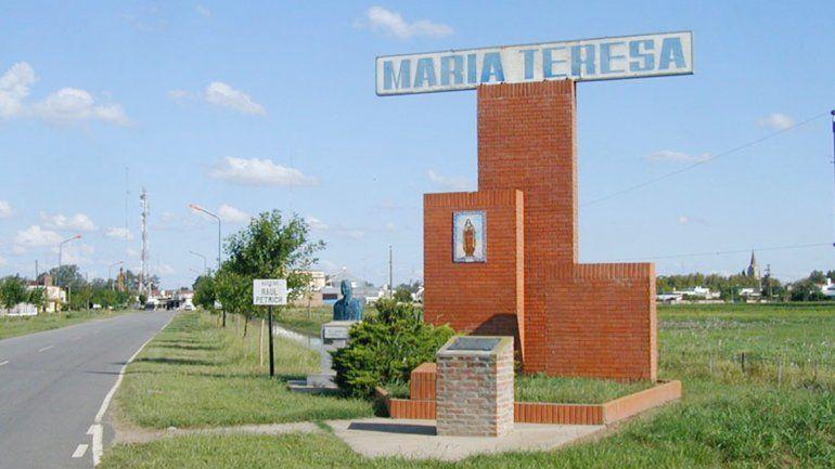 La localidad de María Teresa